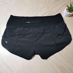 Lululemon Speed Shorts 4 Way Stretch
